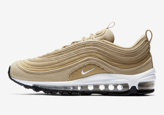 Nike's Studded Air Max 97 Returns In Wheat Gold