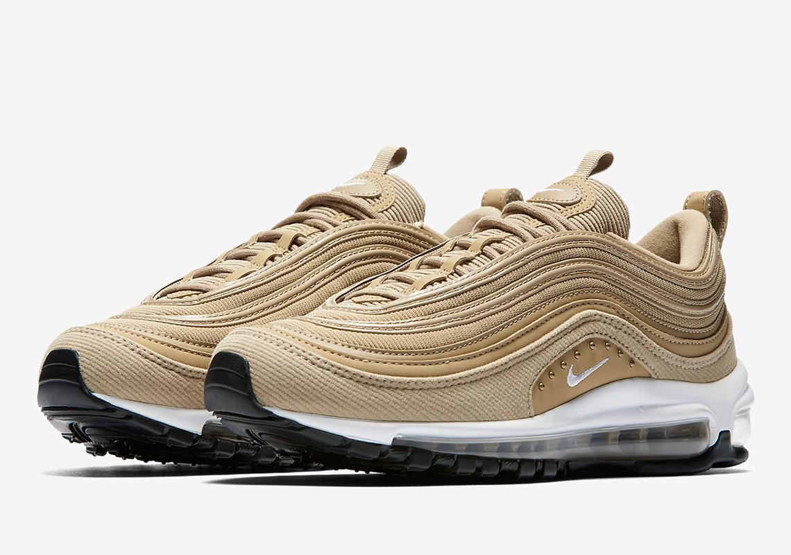 Nikes Studded Air Max 97 Returns In Wheat Gold Air Jordan