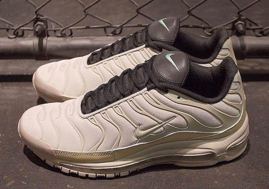 "Nike's Air Max Plus/97 Hybrids Arrive In ""Orewood Brown"""