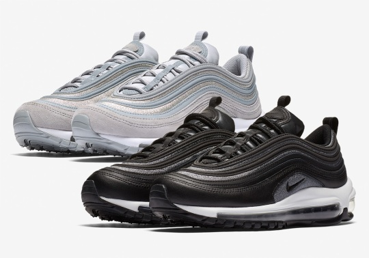 Nike Air Max 97 Premium Welcomes Silver Mesh Uppers