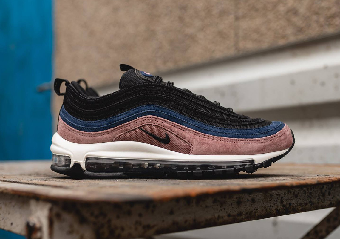 "new product 4d597 cd532 Nike Air Max 97 ""Smokey Mauve"" Is Hitting Stores Now"
