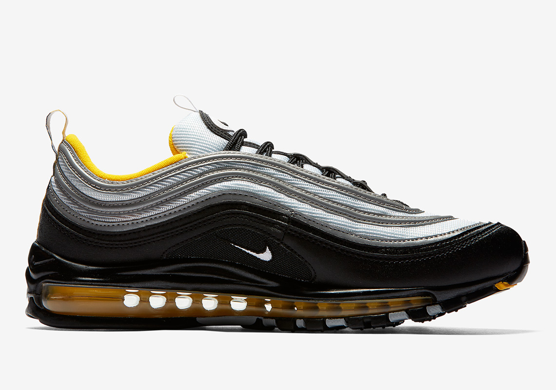 Nike Air Max 97 160. Color BlackWhite-Amarillo