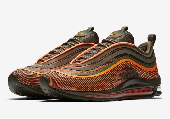 Flight Jacket Colors Land On This Nike Air Max 97 Ultra '17