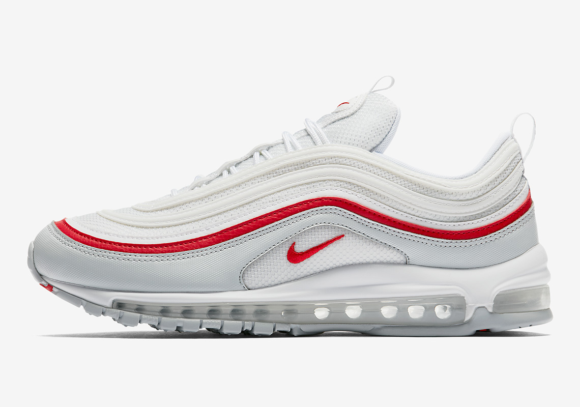 Nike Air Max 97 White Red AR5531 002 Release Date Sneaker