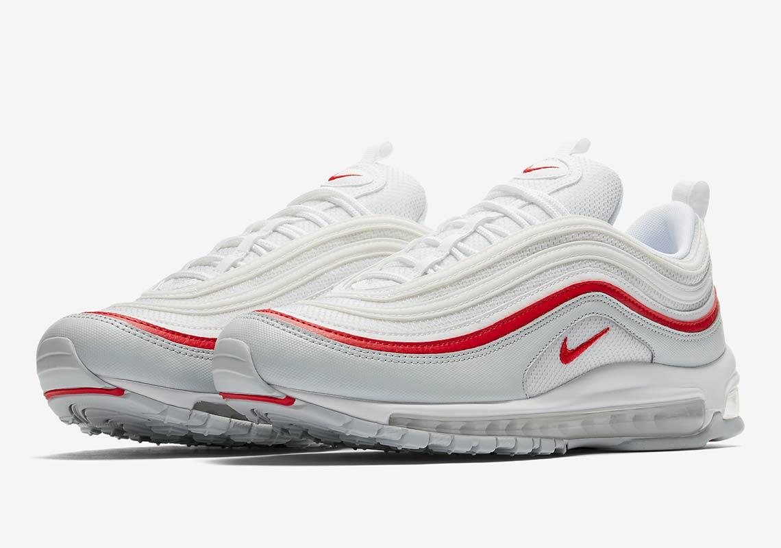 9a2a740ede Nike Air Max 97 White + Red AR5531-002 Release Info | SneakerNews.com