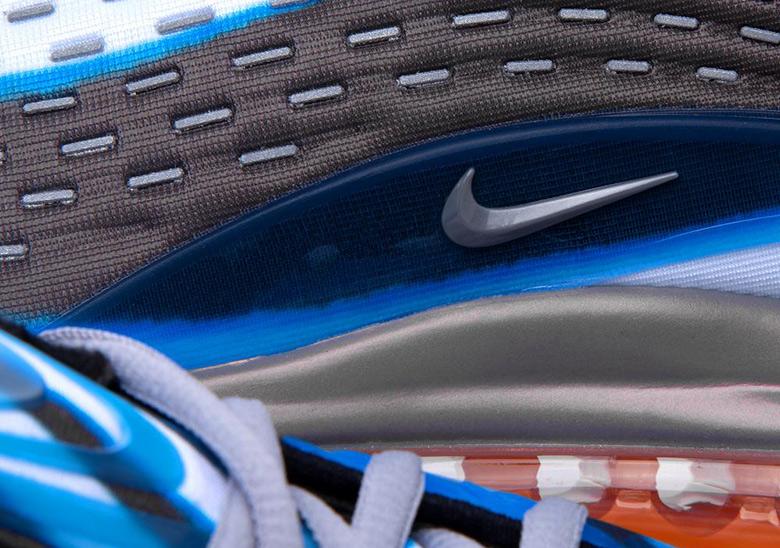 Nike Air Max Deluxe OG Photo Blue Orange AJ7831 401 NOIRFONCE