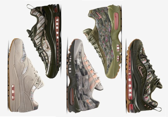 "Nike Air Max ""Floral And Camo"" Collection Releases This Saturday"