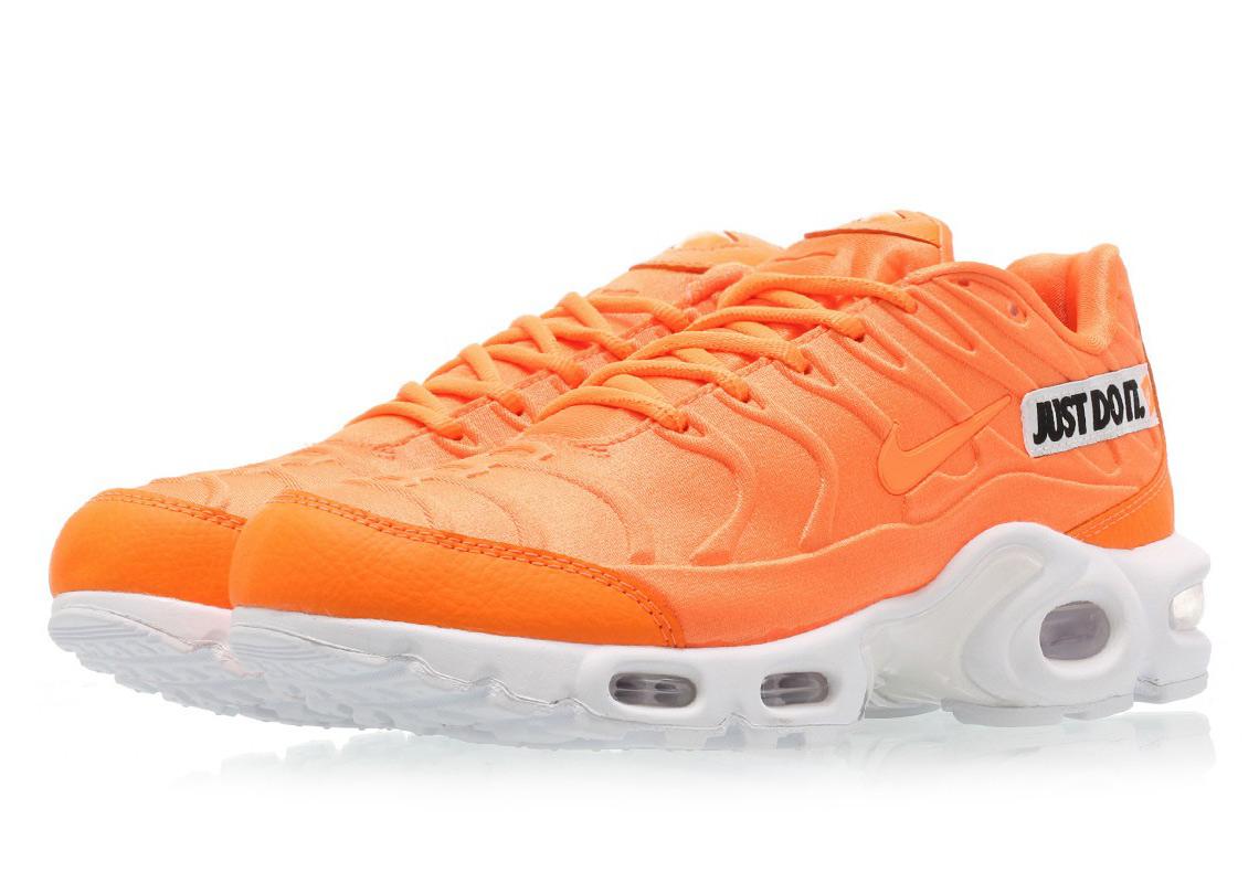 air max plus just do it orange