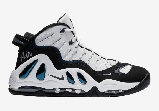 """The Nike Air Max Uptempo 97 Has Returned In """"College Navy"""""""