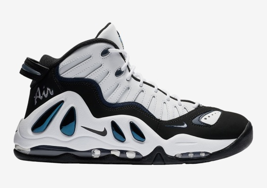 "The Nike Air Max Uptempo 97 Has Returned In ""College Navy"""