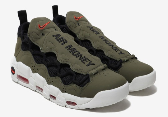 The Nike Air More Money Gets More Military