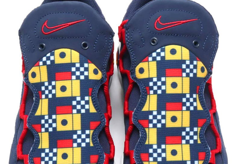 19bfd0809c3 Nike Air More Money Nautical AR5396-400 Release Info