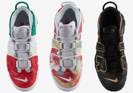 The Nike Air More Uptempo Heads To Europe With City Pack