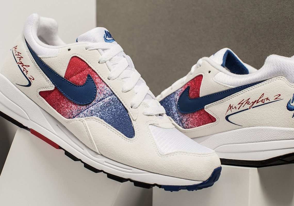 3048b0b629be98 Nike Air Skylon II White Red Blue AO1551-104 Available Now ...