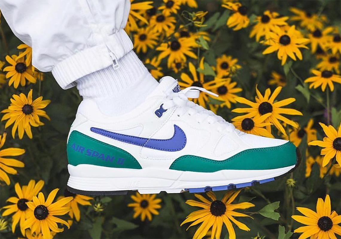 "The Nike Air Span II Releases In ""Neptune Green"""