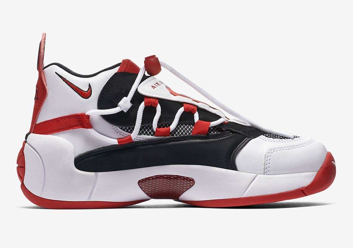 51936f98e7f Nike Air Swoopes 2 917592-101 + 917592-100 Release Info ...