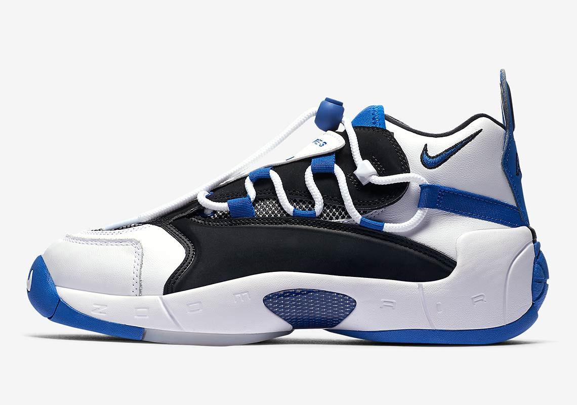 new style 937ef f6563 Nike Air Swoopes 2. Release Date August 11th, 2018 140. Color WhiteGame  Royal-Black Style Code 917962-101