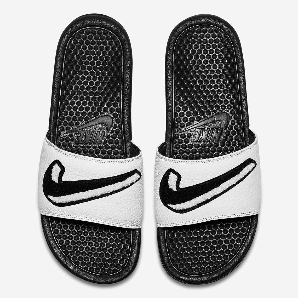 new product ab435 f14d3 Nike Benassi JDI Available Now on Nike.com  45. Color  Black Summit White  Style Code  AO2805-001