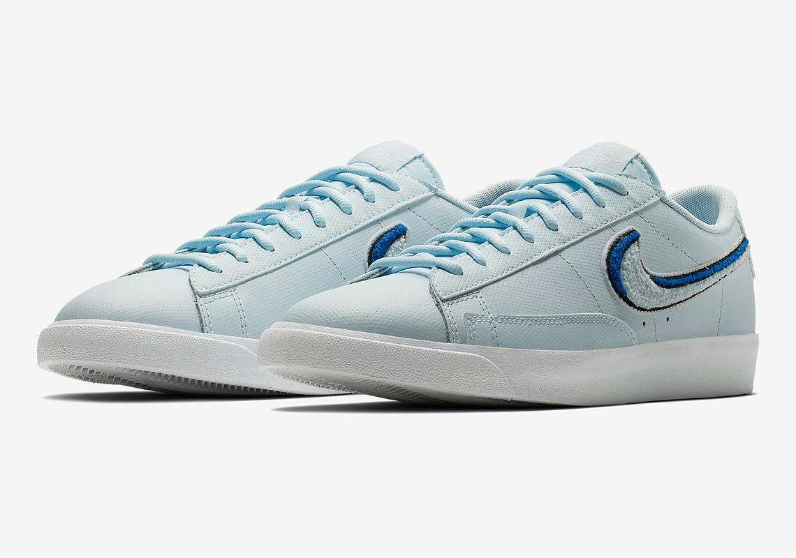 the latest c4fb6 2d7e0 Nike Blazer Low 3D Swoosh AV6964-001 Available Now ...