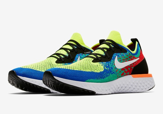 "Nike Epic React ""Belgium"" Is Available Now"