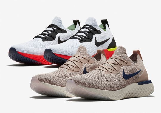 Two New Nike Epic React Colorways Arrive This Week