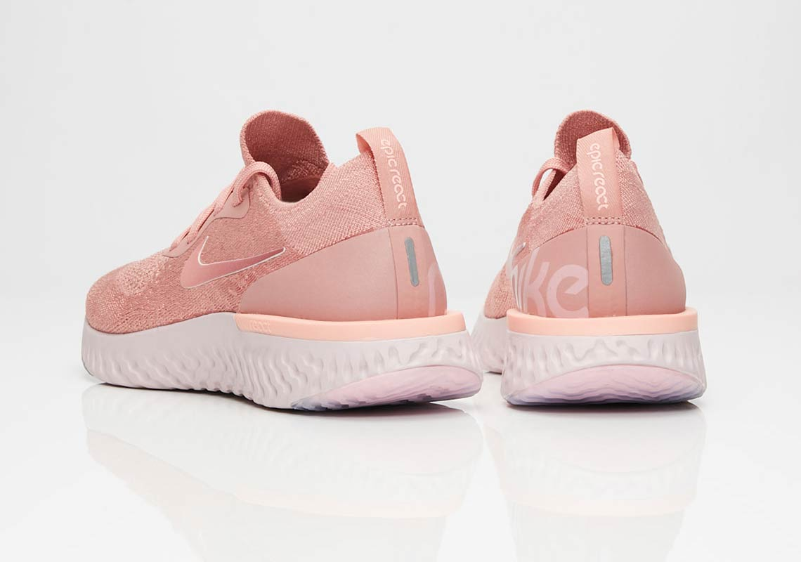 uk availability a4129 6ddd7 Nike Epic React Rust Pink AQ0070-602 Release Info | SneakerNews.com