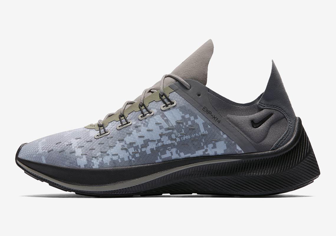 150591083a Nike EXP X-14 Dark Stucco AR4211-001 Release Info | SneakerNews.com