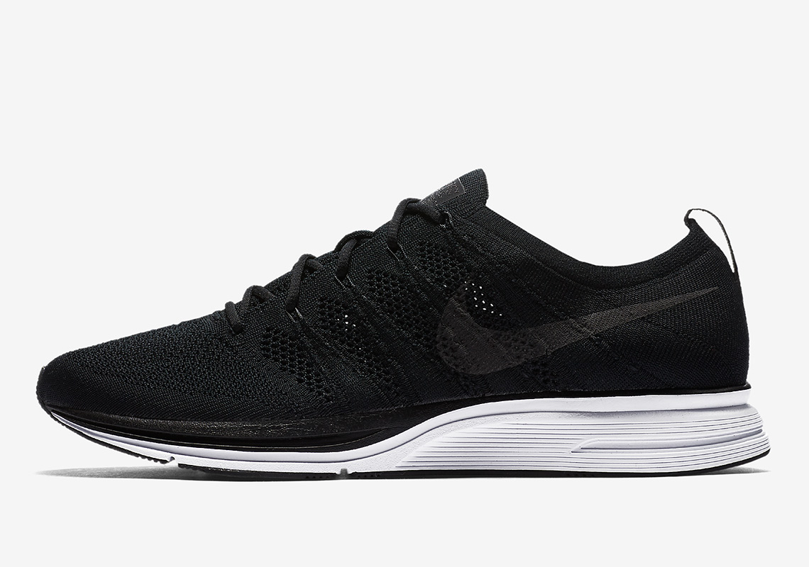 e0d9d586d051 Nike Is Releasing A Flyknit Trainer With Full Black Uppers