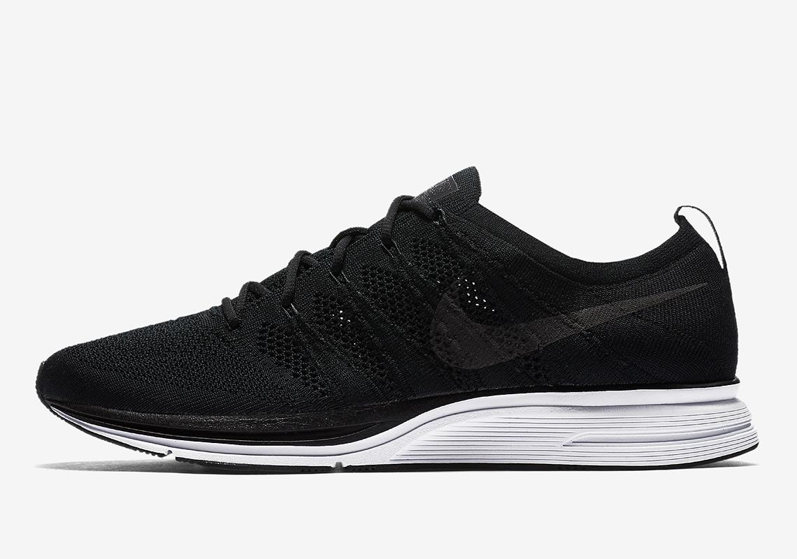 pretty nice 4346d 89099 Nike Flyknit Trainer Black AH8396-007 Release Info   SneakerNews.com