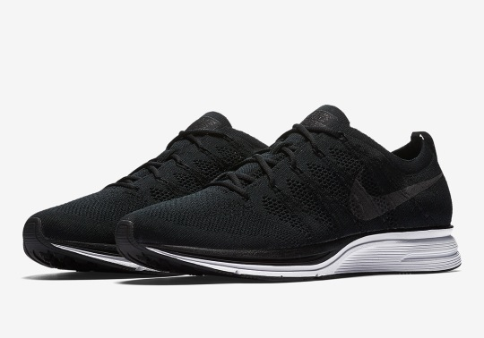 Nike Is Releasing A Flyknit Trainer With Full Black Uppers