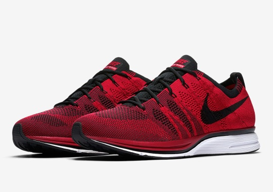 The Nike Flyknit Trainer Returns In University Red