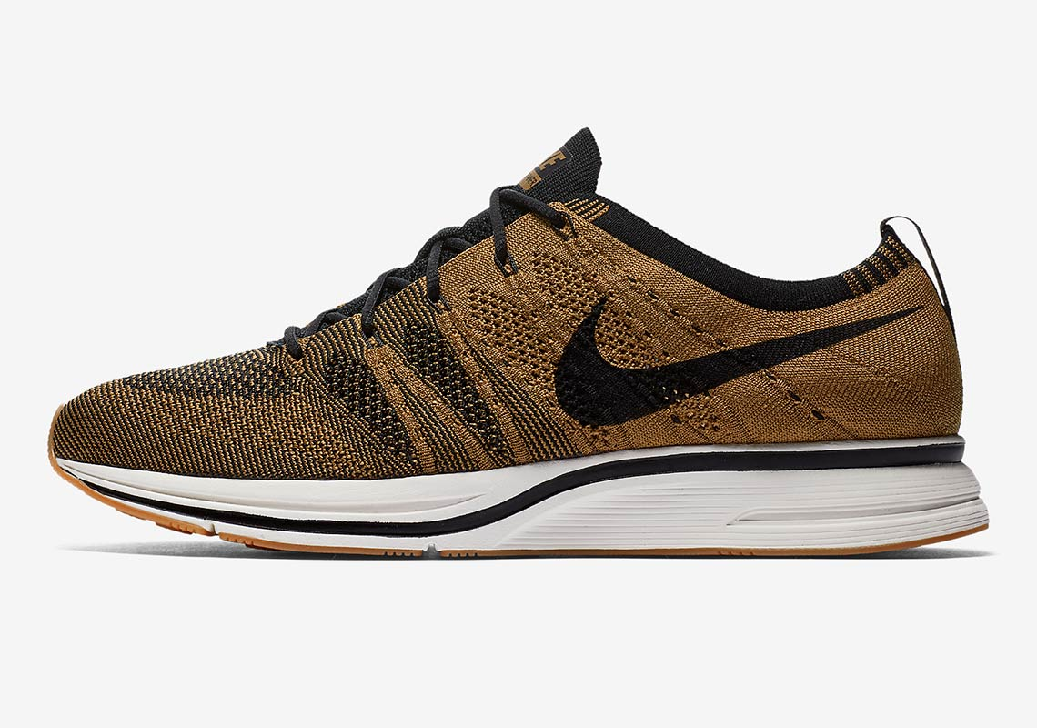 san francisco 640b1 04a56 Nike Flyknit Trainer AVAILABLE AT Nike 150. Color Golden BeigeBlackGum  Light BrownBlack