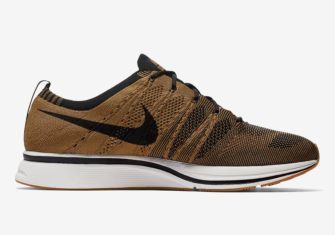 d62cf6507f9ba Nike Flyknit Trainer Golden Beige AH8396-203 Available Now ...