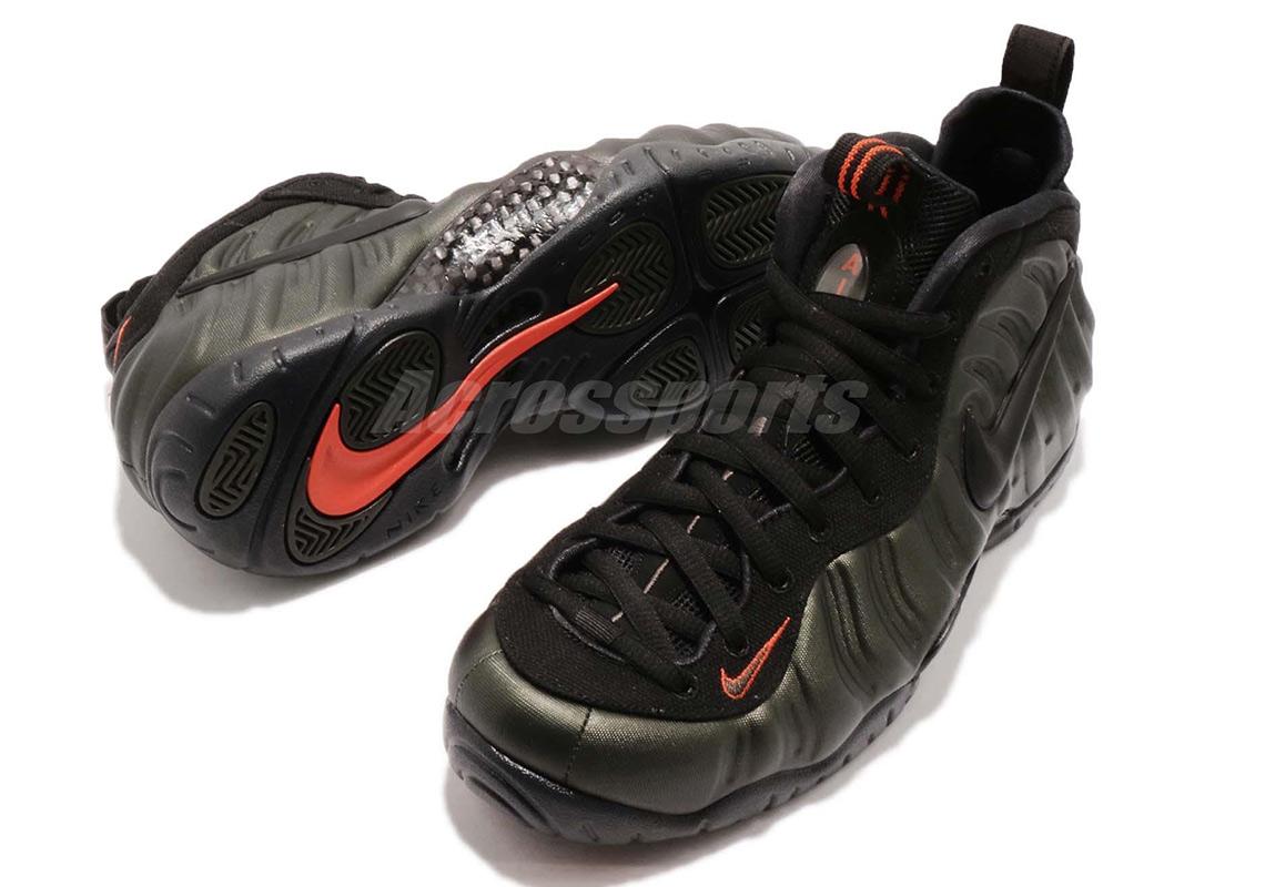 5f479040a0427 Nike Air Foamposite Pro Sequoia Release Info