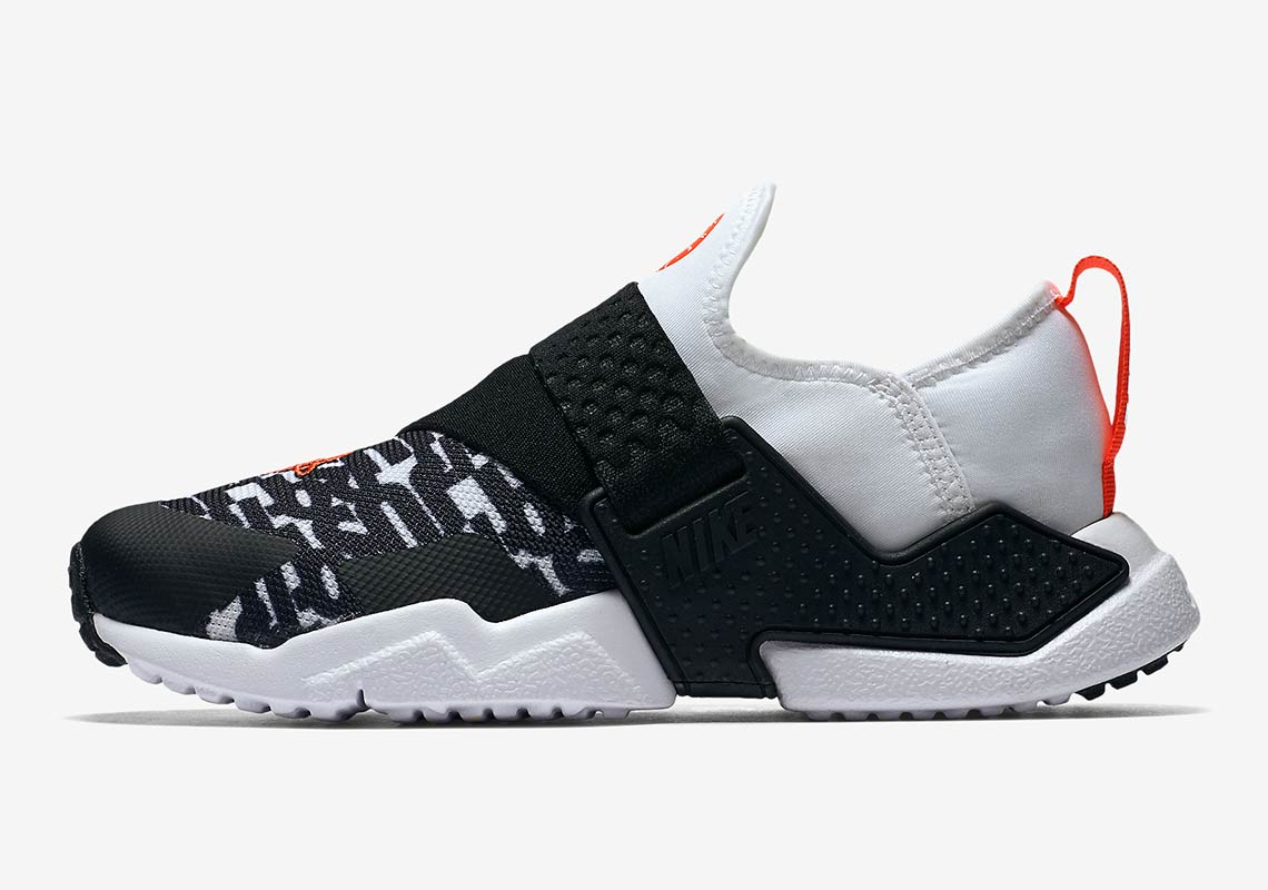 official photos 31617 43e63 Nike Huarache City Release Date  August 2, 2018. Color  Black White-Bright  Crimson-Wolf Grey