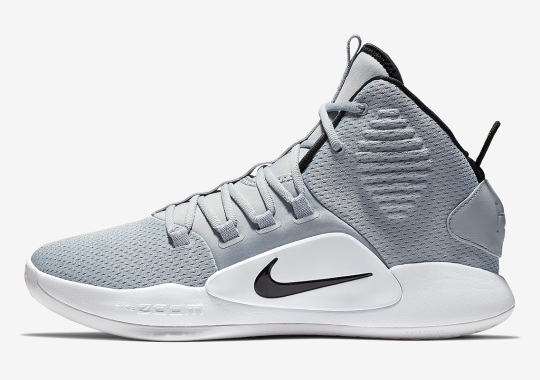 Nike Hyperdunk X In Grey And White Expected Soon