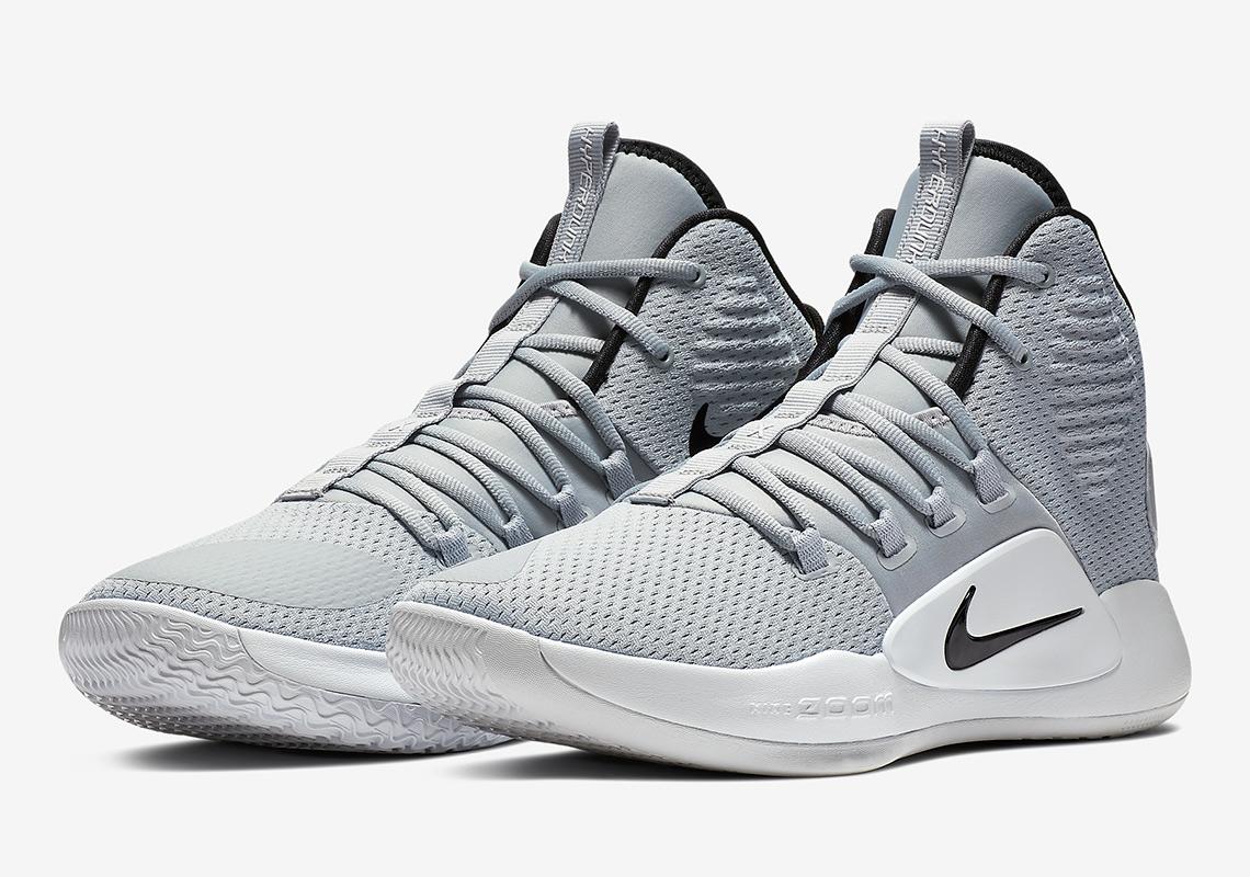 Nike Hyperdunk X Grey/White AR0467-002