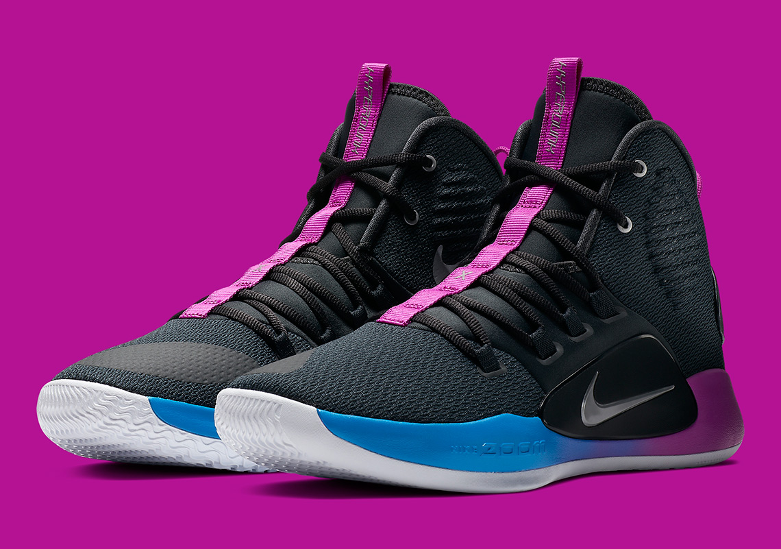 The Air Flight Huarache Colorway Appears On The Nike Hyperdunk X
