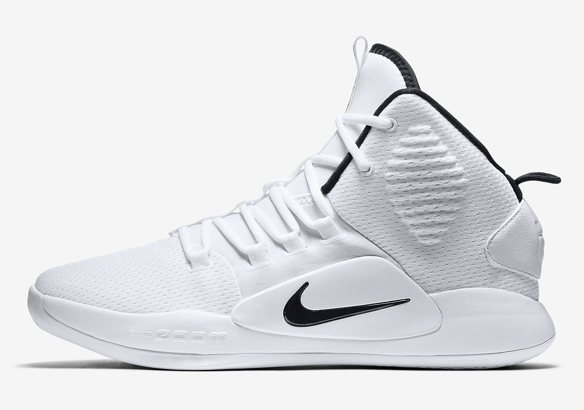 733b92e55345 Nike Hyperdunk X Release Date  August 2018  130. Color  White Black