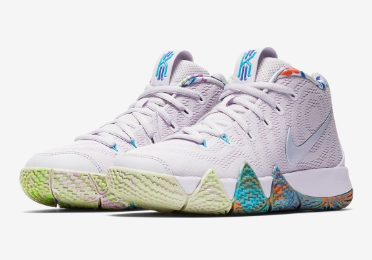 This Nike Kyrie 4 For Kids Remembers The 90's