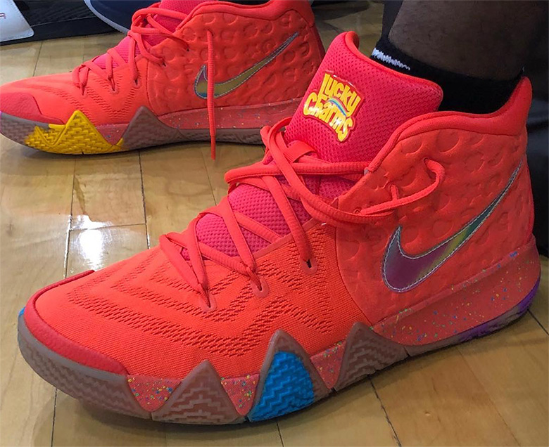 competitive price b30cf 274fa Nike Kyrie 4 Lucky Charms | SneakerNews.com