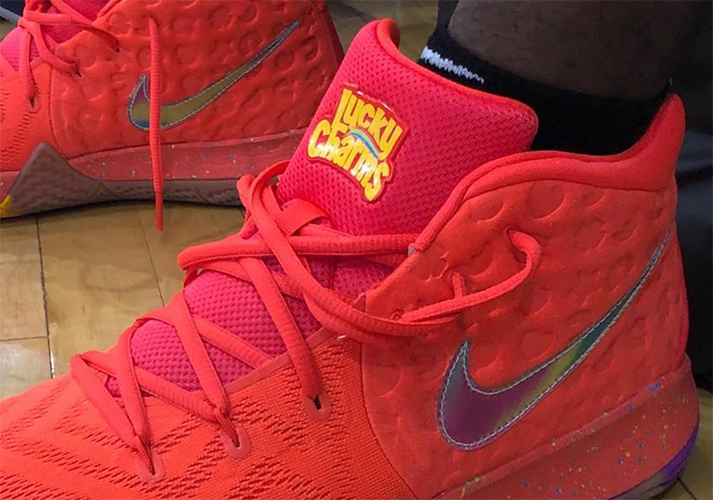 competitive price cb99a 4dfd3 Nike Kyrie 4 Lucky Charms | SneakerNews.com