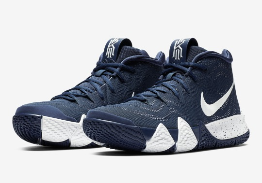 The Nike Kyrie 4 Is Releasing In Navy And White