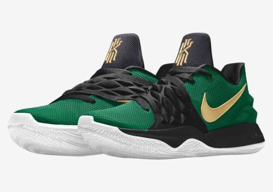 Kyrie Irving's Latest Nike Signature Shoe Is Now On NIKEiD