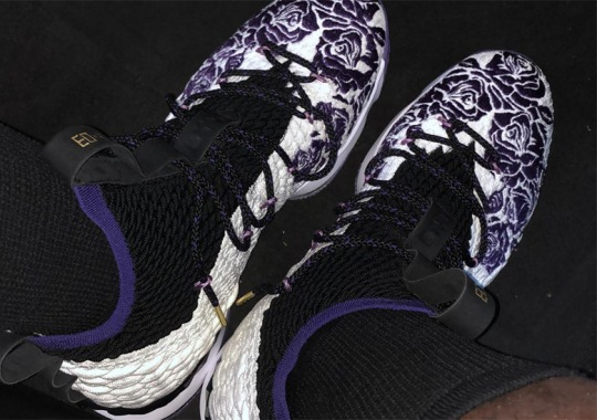 "1b42594b4f4 LeBron James Reveals ""Purple Rain"" Inspired Nike LeBron 15"