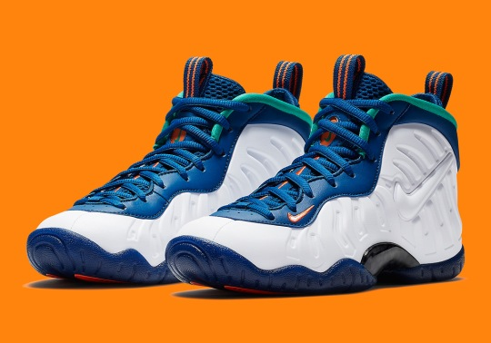 """Where To Buy: Nike Little Posite Pro """"Gym Blue"""""""