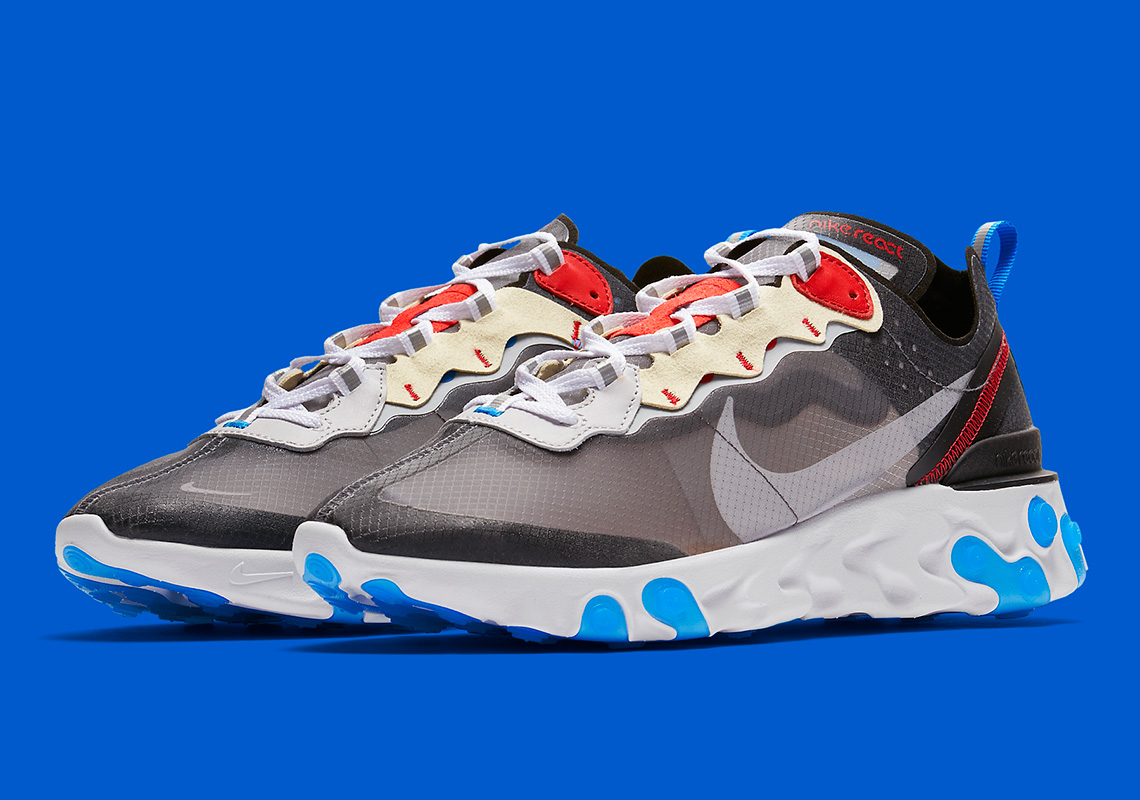 "e59690d96a41 Official Images Of The Nike React Element 87 ""Dark Grey"""