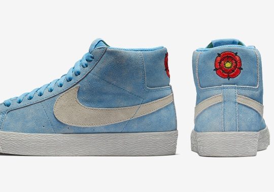 Lance Mountain's English Rose Featured On Upcoming Nike SB Blazer Release