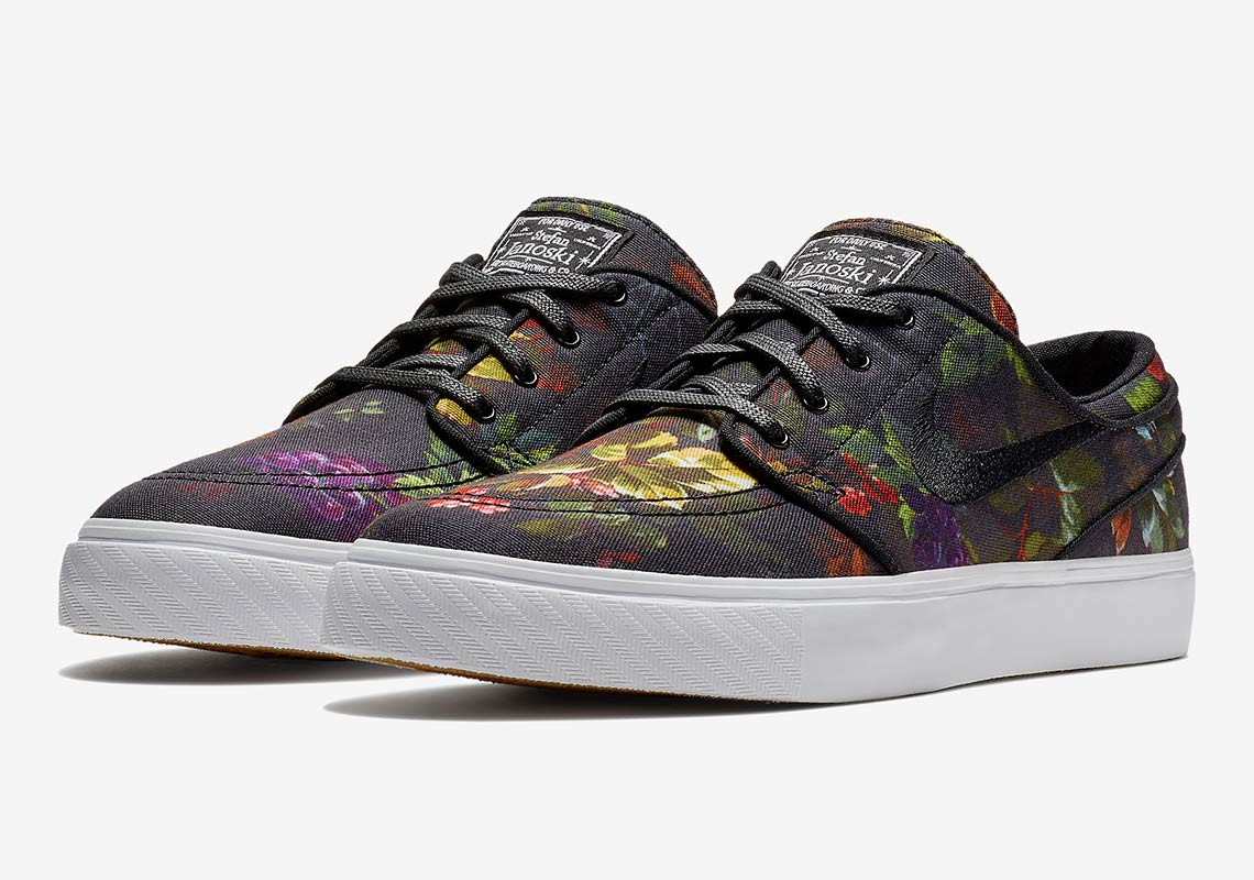 A Bold Floral Print Comes To The Nike SB Janoski 5ddde433b3
