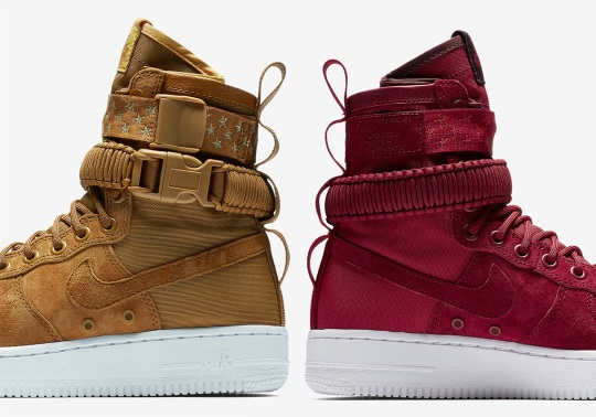 The Nike SF-AF1 Returns With Starry Straps